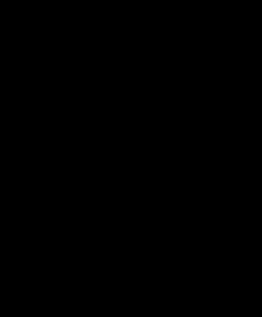 black and white bleeding heart icon